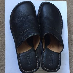 Born size 6 leather clog sandals 45 or best offer!